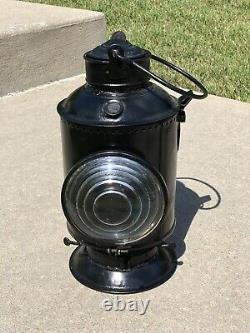 Buck Handlan Illinois Central Railroad Classification Marker Brass Lamp Lantern