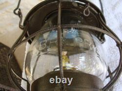 Buffalo Rochester Pittsburgh Railroad Lantern & Tall Embossed BR&P Railway Globe