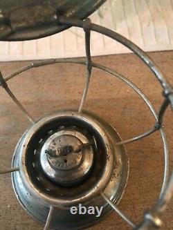 C. T. Ham's No. 3 1/2 Conductor's Railroad Lantern And Globe