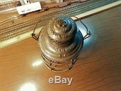 CHICAGO & NORTH WESTERN RAILROAD LANTERN A&W COMPANY THE ADAMS C&NWRy 1897