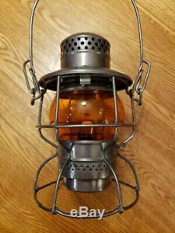 CMStP&P Chicago Milwaukee St. Paul & Pacific Road Railroad Signal Lantern