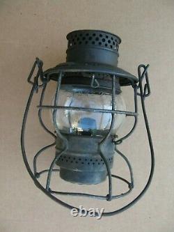CNS&M Adlake 250 railroad lantern Chicago, North Shore & Milwaukee