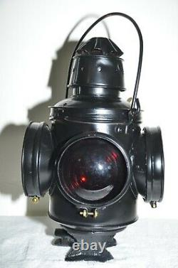 Chicago, Milwaukee, & St. Paul Railroad Switch Lantern-EXCELLENT