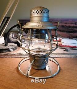 Cincinnati Hamilton & Dayton Railway Lantern The Adams & Westlake Company 1895