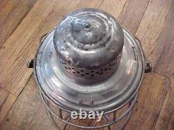 Colorado Midland Railroad Lantern With Red Unmarked Short EB Globe Excellent Tin