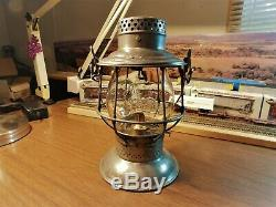 DELAWARE & HUDSON RAILROAD Lantern A&W Company ADLAKE RELIABLE D&H Co. 1897