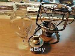 DELAWARE & HUDSON RAILROAD Lantern DRESSEL MANUF COOP NEW YORK THE D&H Co. 1900