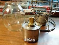 DENVER & RIO GRANDE RAILROAD Lantern ADAMS & WESTLAKE COMPANY CHGO NY 1895