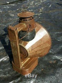 DIETZ 30 N. Y USA Beacon Railroad Search Light Lamp Magnifier Lantern Antique