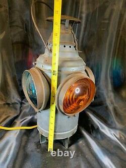 DRESSEL TRAIN, NO. J RAILROAD SIGNAL, ARLINGTON, 4 Way LAMP D740
