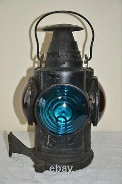 Delaware Lackawanna & Western Railroad Dressel Caboose Marker Lantern