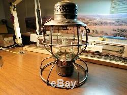 Denver & Rio Grande Railroad Lantern Handlan St Louis D&rgrr 1909