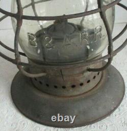 Dietz # 6 Boston & Albany Bell Bottom Railroad Lamp Lantern
