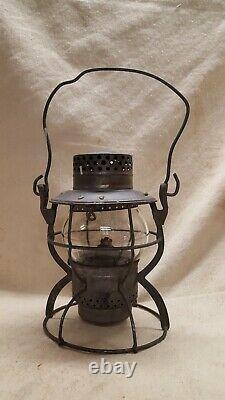 Dietz N. Y. C. S. Railroad Lantern # 999 Kerosene Clear Onion Globe USA