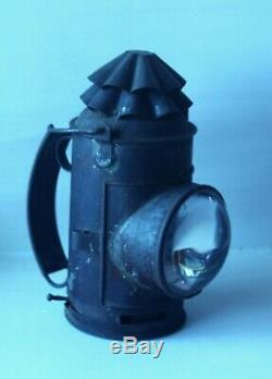 Dietz Tin Railroad Lantern Police Regular Complete with Lamp Pot