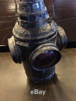 Dressel Arlington NJ Switch Lantern Railroad Kerosene Lamp
