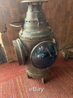 Dressel Arlington NJ Switch Lantern Railroad Kerosene Lamp Free Shipping