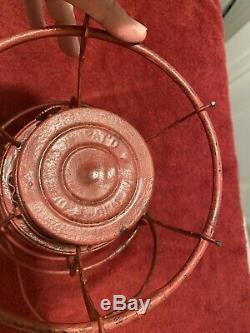 Dressel P&Rry Railroad Lantern Kerosene Antique Lantern globe patent dated