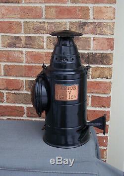 Dressel PRR Boston Division Pennsylvania Railroad Caboose Tail Lantern Lamp