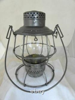 EL PASO & SOUTHWESTERN RAILROAD LANTERN Clear CNX Lantern Globe