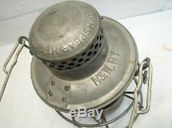 Early Armspear Norfolk & Western Railway Red Globe Railroad Train Lantern N&W Ry
