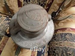 Early Richmond Fredericksburg and Potomac Railroad Lantern Blue Globe