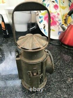 Exquisite British Rail BR Vintage Tri Colour Signal Railway Hand Lamp Lantern