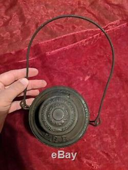 Extremely Rare PRR 1895 Bell Bottom Railroad Lantern