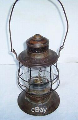 Fitchburg Railroad Lantern 19th century