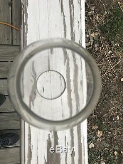 Fremont Elkhorn & Missouri Valley Railroad Lantern Globe