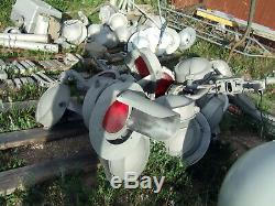Full Size, Old Railroad Signal Lights, Crossing Gate, Crossing Bell, Misc. Stuff