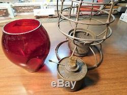 GRAND RAPIDS & INDIANA RAILWAY Lantern A&W COMPANY The ADAMS GR&I Ry 1897