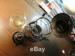 GREAT NORTHERN RAILWAY Lantern ADAMS & WESTLAKE DOUBLE WIRE RELIABLE 1897 G. N. Ry