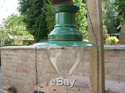 Gas light Station lamp Sugg Lighting Original railway fitting with history