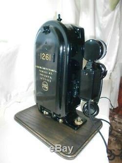 General Railway Signal Co. Lights & Telephone Railroad Train Old Phone Gamewell