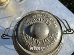 Great Northern Railroad Lantern With Cast Globe