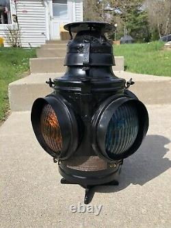 Handlan Buck Railroad Switch Lamp Railway Train Light Kerosene Lantern