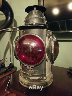 Handlan NYCS Railroad Caboose marker Lantern