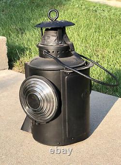 Hocking Valley Railroad Chesapeake & Ohio Adlake Train Order Signal Lamp Lantern
