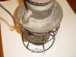 Huntingdon and Broad Top Railroad Lantern H&BT RR Pa. Dietz Vesta Shop Stamped