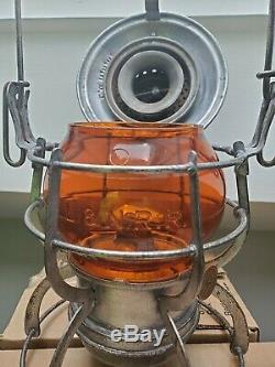 L&N Amber Cast Railroad Lantern