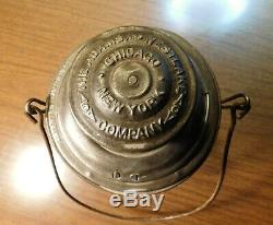 LAKE SHORE & MICHIGAN SOUTHERN RAILWAY Lantern ADAMS & WESTLAKE COMPANY 1895