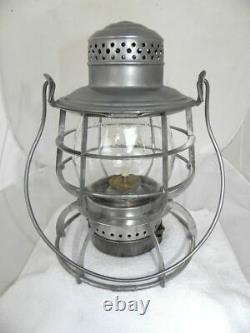 LOUISVILLE & NASHVILLE RAILROAD LANTERN Clear Cast CNX Lantern Globe