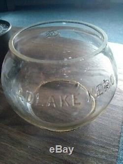 Lehigh New England Adlake 250 Railroad Lantern Rare