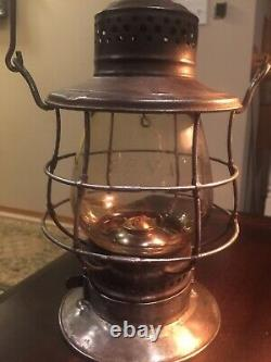 Lehigh Valley Railway / Railroad Lantern. LVRR
