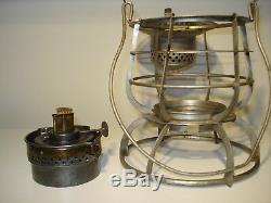 Long Island Railroad Armspear Lantern Rare Globe