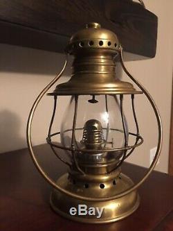 M. M. Buck & Co. Presentation Lantern. Fireman / Railroad