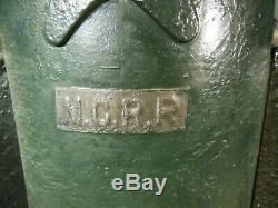 MCRR Michigan Central Railroad Lantern Peter Gray Boston