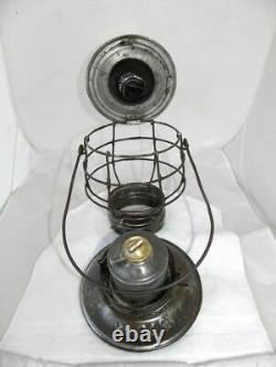 MISSOURI PACIFIC RAILROAD LANTERN Clear Cast MP Lantern Globe