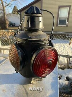 Milwaukee Railroad Switch Light Early Shop Made
